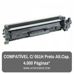 051H Preto XL Toner Compativel