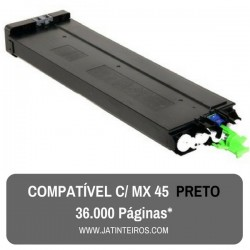 MX45 Preto Toner Compativel