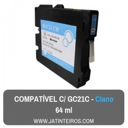 GC21K Preto Tinteiro Compativel