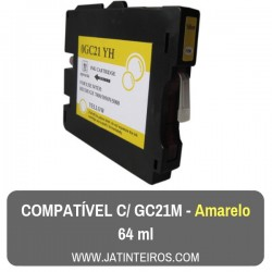 GC21M Magenta Tinteiro Compativel