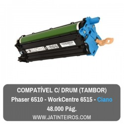 Phaser 6510, Workcentre 6515 Preto Tambor Compativel (Drum)
