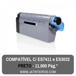 Executive ES7411, ES3032 Preto Toner Compativel