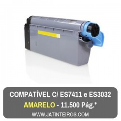 Executive ES7411, ES3032 Amarelo Toner Compativel