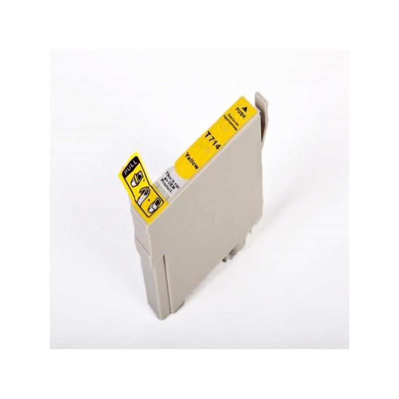 Tinteiro Compativel c/ Epson T0714 - Amarelo