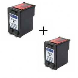 Pack Económico 2 Tinteiros Reciclados HP 21