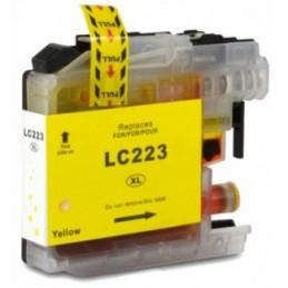 Tinteiro Compativel LC223 Y - Amarelo