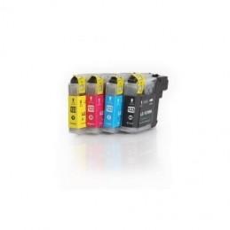 Tinteiro Compatível LC123 Pack 4 Cores