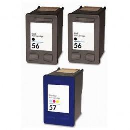 Pack Económico Reciclado 2 - HP 56 / HP57