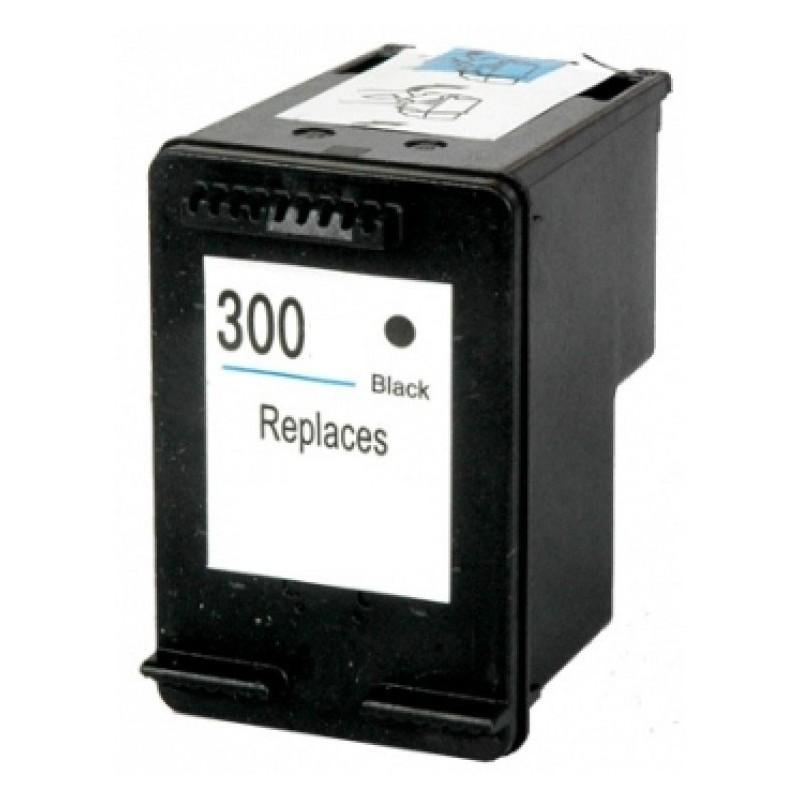 HP 300 Tinteiro Reciclado Preto