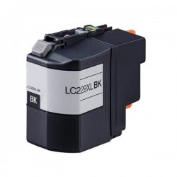 LC229XL Tinteiro Compativel c/ Brother Preto