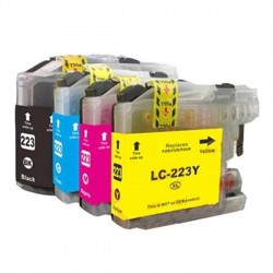 Pack 4 Tinteiros Compativeis Brother LC223
