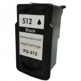 PG 512 XL Canon Tinteiro Preto Reciclado