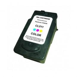 Tinteiro Reciclado Canon CL-511 - Cor