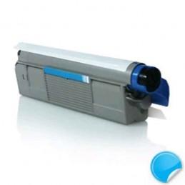 OKI C610 Ciano Toner Compatível