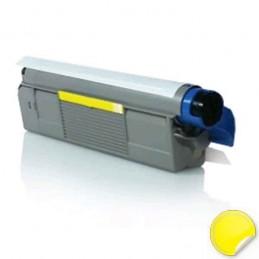 OKI C610 Amarelo Toner Compatível