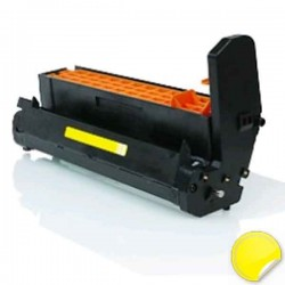 OKI C5600-C5700-C5800-C5900-C5500-C5650-C5750-C5850-C5950-MC560-C610-ES5460-ES2232-ES2632 Amarelo Tambor Compatível (DRUM)