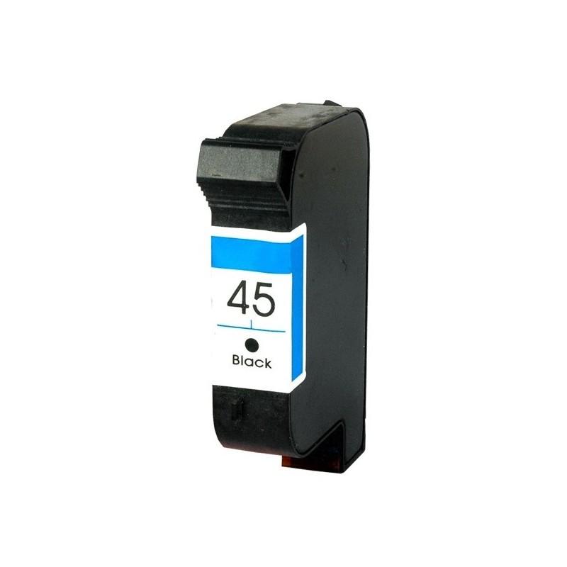 HP 45 Preto Tinteiro Reciclado