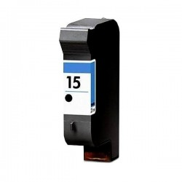 Tinteiro Reciclado HP 15 - Preto XL