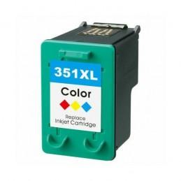 HP 351XL Cores Tinteiro Reciclado