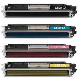 HP CE313A, 126A Magenta Toner Compatível