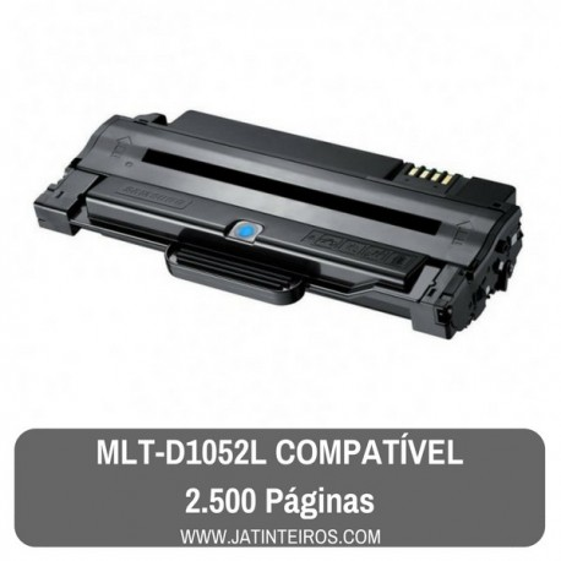 Toner Preto MLT-D1052L Compatível SAMSUNG ML1910, SCX4623