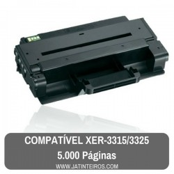 XEROX WORKCENTRE 3315, 3325 Toner Compativel Preto 106R02311, 106R02313