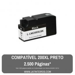 LEXMARK 200XL, 210XL Preto Tinteiro Compatível