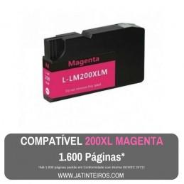 LEXMARK 200XL, 210XL Magenta Tinteiro Compatível