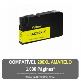 LEXMARK 200XL, 210XL Amarelo Tinteiro Compatível