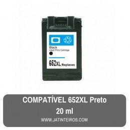 652XL Preto Tinteiro Reciclado