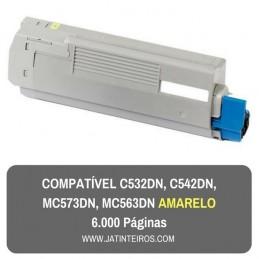 C532DN, C542DN, MC573DN, MC563DN Magenta Toner Compativel