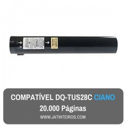 DQ-TUS28K, DQ-TUS20C Ciano Toner Compativel