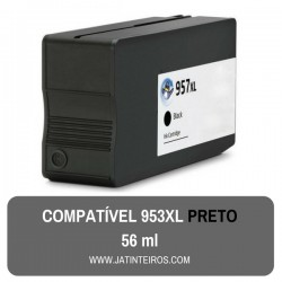 957XL, 953XL Preto (BK)