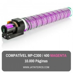 MP-C300, MP-C400 Magenta Toner Compativel