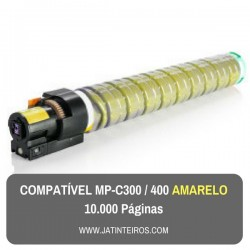 MP-C300, MP-C400 Amarelo Toner Compativel