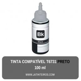 T6731 Preto Tinta Compativel Epson