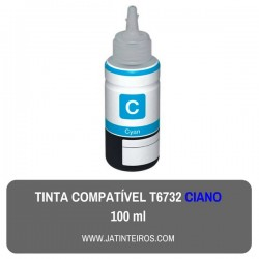 T6732 Ciano Tinta Compativel Epson