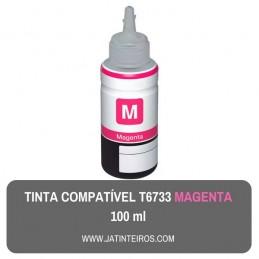 T6733 Magenta Tinta Compativel Epson