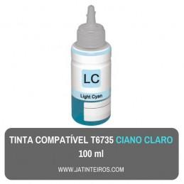 T6735 Ciano Claro Tinta Compativel Epson