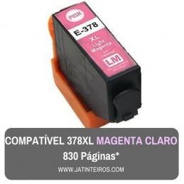 378XL Magenta Claro Tinteiro Compativel