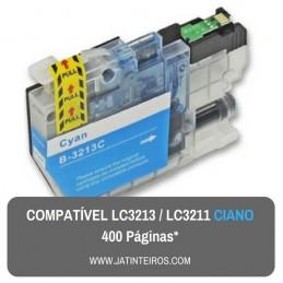 LC3213, LC3211 Ciano Tinteiro Compativel