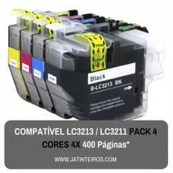 LC3213, LC3211 Pack Tinteiros Compativeis