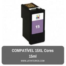 15XL Cores Tinteiro Reciclado