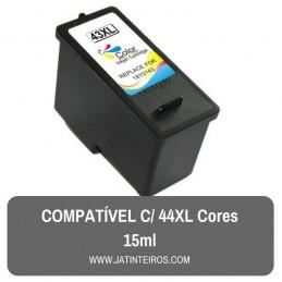 43XL Cores Tinteiro Reciclado