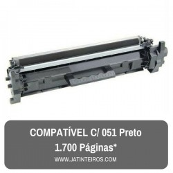 051 Preto Toner Compativel