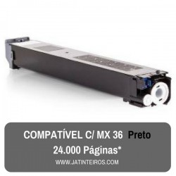 MX36 Preto Toner Compativel
