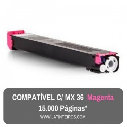 MX36 Magenta Toner Compativel