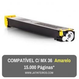 MX36 Amarelo Toner Compativel
