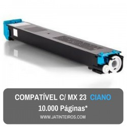 MX23 Ciano Toner Compativel