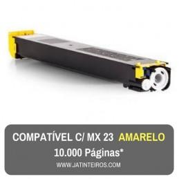 MX23 Amarelo Toner Compativel